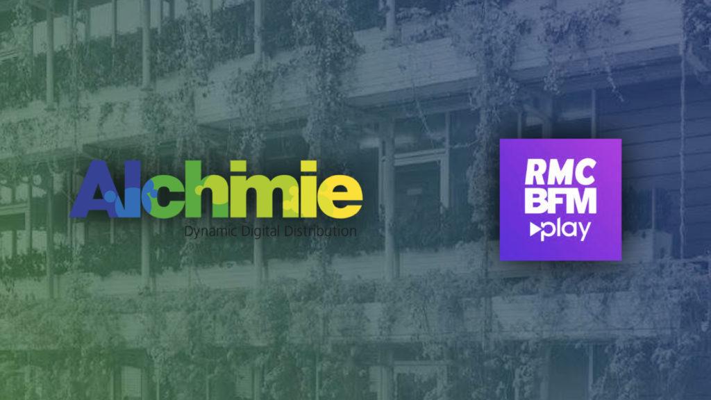 Distribution : partenariat entre Alchimie et Altice sur la nouvelle plateforme RMC BFM Play © DR