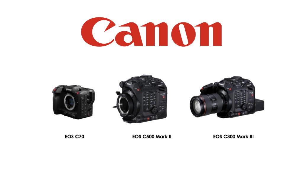 Des mises à jour importantes pour plusieurs caméras et objectifs Canon EOS Cinema © DR