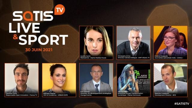 Découvrez le programme détaillé des plateaux d'experts de la SATIS TV – Live & Sport ! © DR