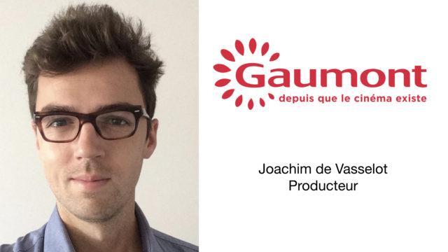 La filiale française de Télévision de Gaumont accueille Joachim de Vasselot en tant que Producteur © DR