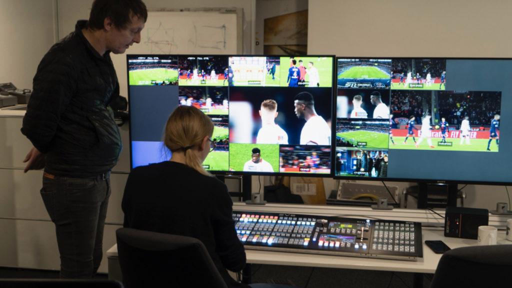HBS propose une formation de ralentis pour productions sportives en direct © DR