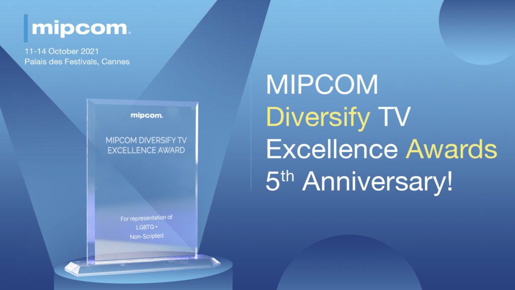 Mipcom Diversify TV Excellence Awards back in Cannes to celebrate 5th anniversary year © DR