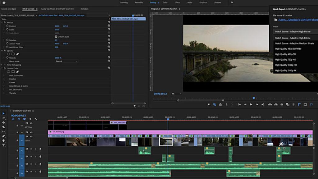 Cinq studios régionaux travaillent depuis longtemps avec Adobe CC... et Helmut de MoovIT © DR