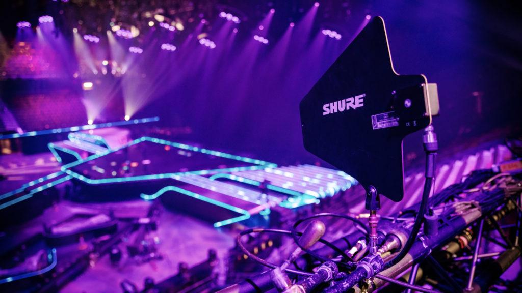 Shure dans les coulisses de l'Eurovision © Nathan Reinds