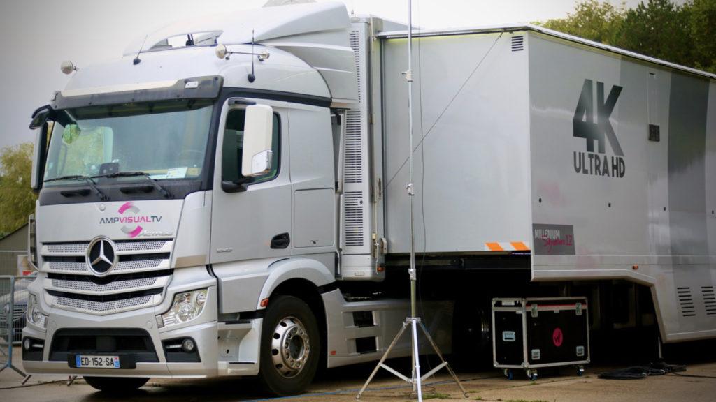 Riedel monte à bord des nouveaux cars-régies d'AMP VISUAL TV pour ces réseaux vidéo & intercom © Nathalie Klimberg