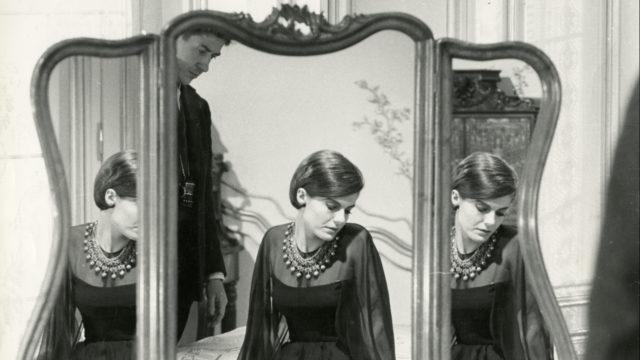 Delphine Seyrig en 1961 dans L'Année dernière à Marienbad © Georges Pierre - Laurence Pierre de Geyer