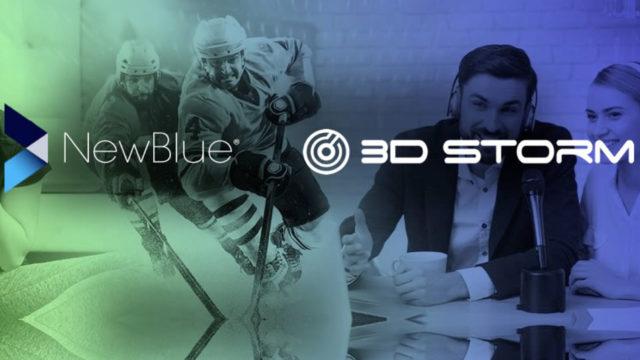 L'américain NewBlue entre au catalogue de 3D Storm en Europe © DR