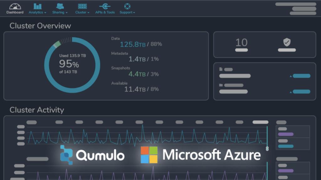 Qumulo étend son offre Cloud Q avec Qumulo on Azure as a Service © DR