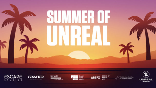 ARTFX missionnée pour recruter les participants français à la session de formation d'été à Unreal Engine, le moteur 3D temps réel d'Epic Games © DR