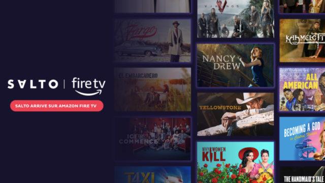 SALTO est disponible sur Amazon Fire TV © DR