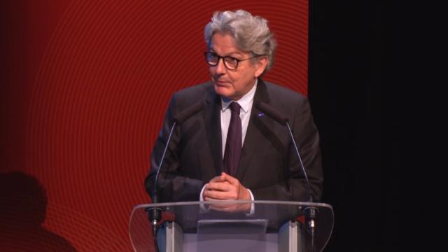 Thierry Breton, invité des Dialogues de Lille, le volet professionnel de Série Mania...