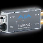 Aja élargit sa gamme de convertisseurs de fibre 12G-SDI compatibles OpenGear © DR