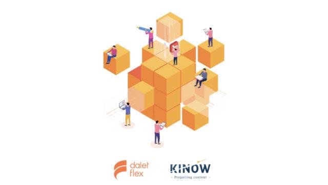 Kinow intègre Dalet Flex pour une solution complète : de la production à la distribution de contenu © DR